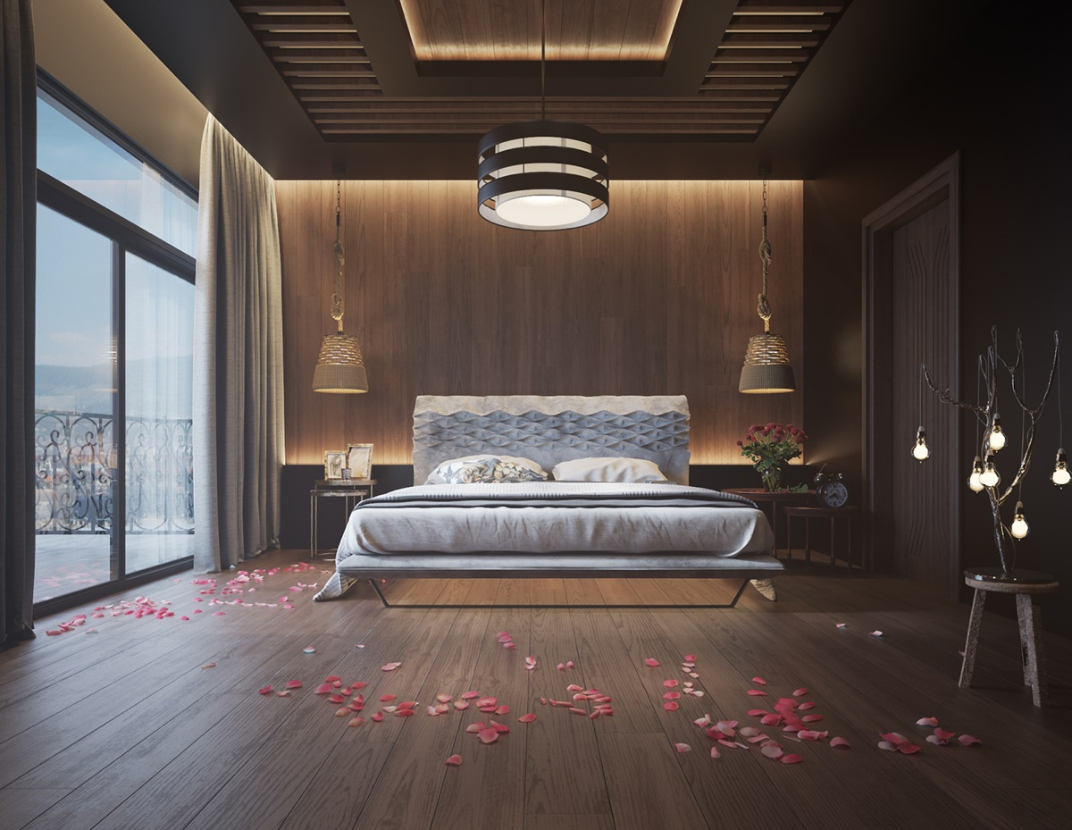 unique-wood-walls-for-the-bedroom